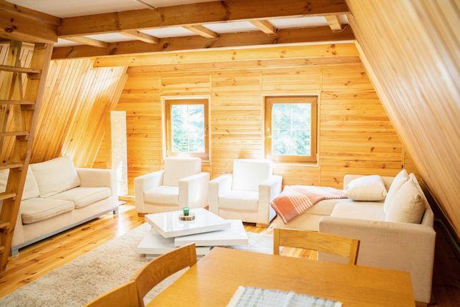 Dom LAS 1 - natura, relaks, jacuzzi . Odpocznij w spokojnej okolicy.