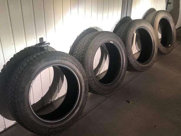 komplet opon zimowych Michelin 225/55 R17 X-Ice North