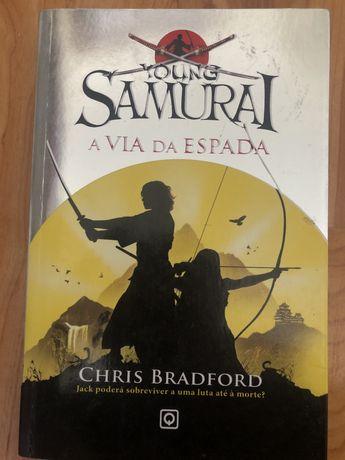 """Livro """"Young Samurai - A Via da Espada"""" de Chris Bradford"""