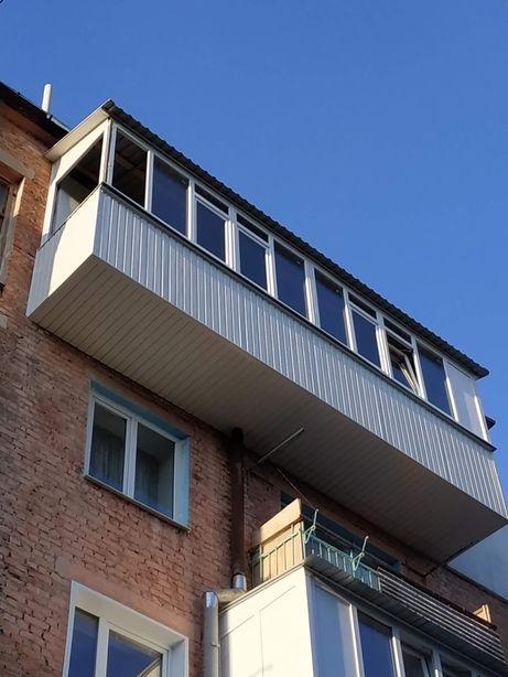 Ремонт балкону
