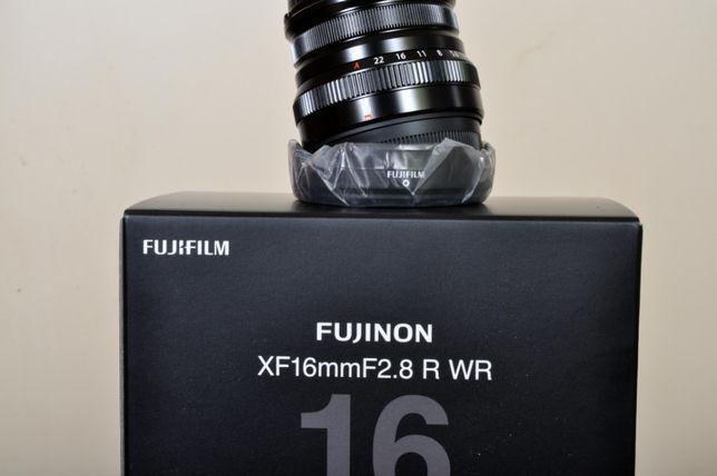 Fuji XF 16mm F: 2.8 WR, nova, factura/nif, garantia nacional