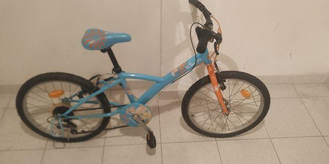 Bicicleta de menina - roda 20