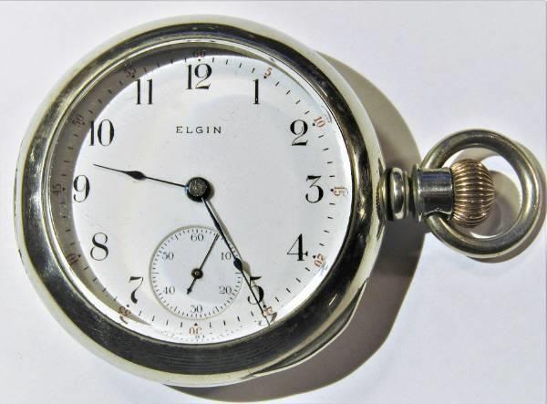 zegarek kieszonkowy 18 ELGIN 1899