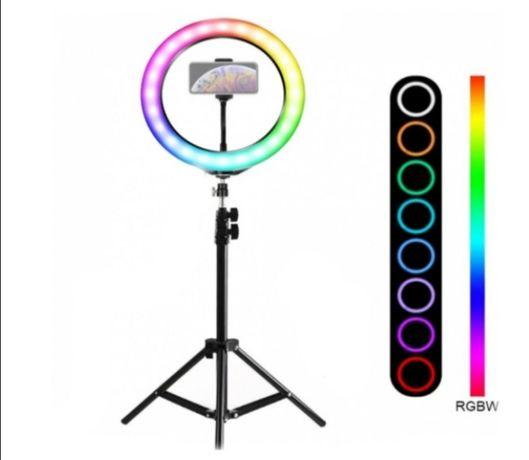 Кольцевая Led Лампа RGB LED 26 см