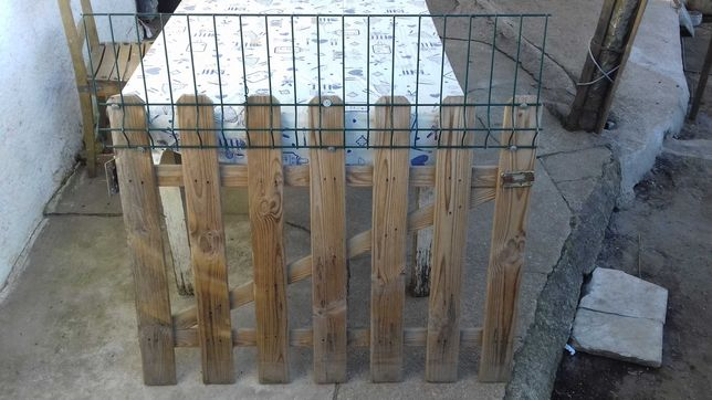 Portão madeira tratada 100×100
