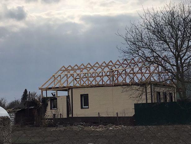 Крыши, коробочки, фронтоны, сайдинг