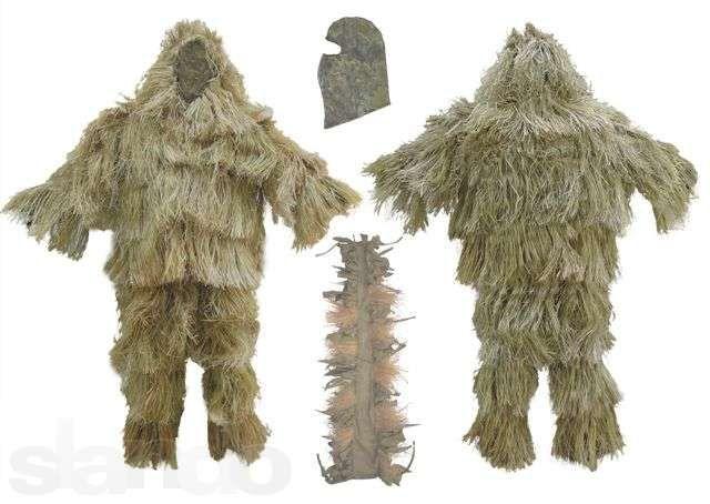 Маскировочный костюм Кикимора (лыко)