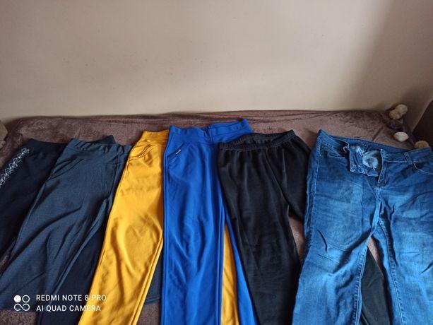 sprzedam leginsy, duże rozmiary :) w zestawie dwie pary jeansów