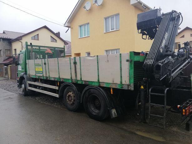 Вантажні перевезення, послуги крана-маніпулятора, грузоперевозки