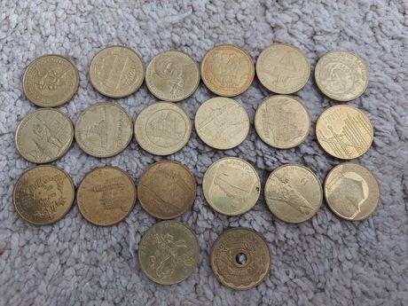 Monety okolicznościowe 2 zł 20 sztuk