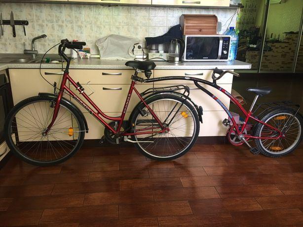 Двойной велосипед
