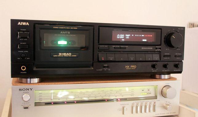 Deck Aiwa 3 head Leitor Gravador cassete 3 cabeças AD-F810 (Sony Japan