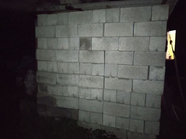 Шлакобетонні стандартні блоки