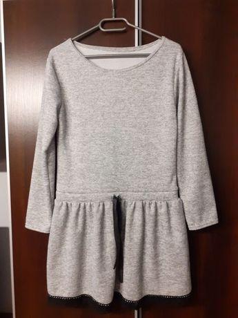 Sukienka tunika szara nowa rozmiar M
