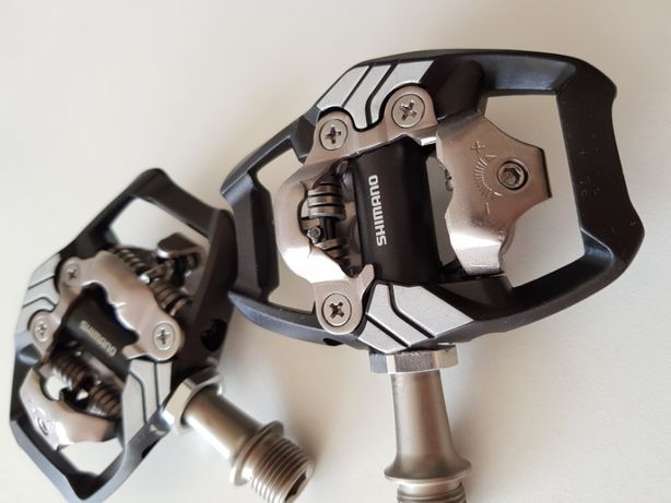 Pedały rowerowe SPD SHIMANO XT M8020 NOWE + bloki