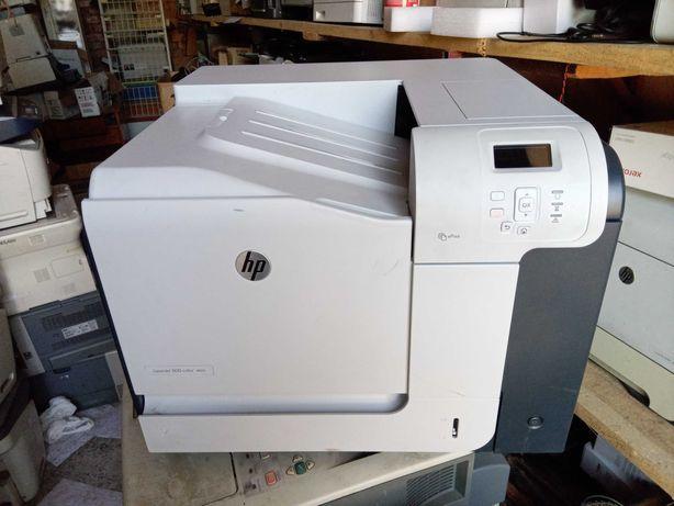 Цветной лазерный принтер HP LaserJet 500 Color M551, заправлен 100%