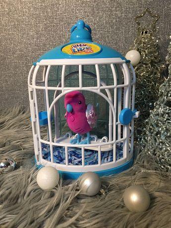 Little live pets интерактивный попугай в клетке