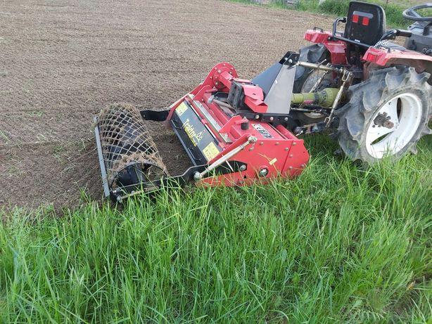 Usługi glebogryzarką , traktorkiem ,równanie terenu, trawniki