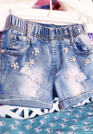Шорти джинсові на 6-8 років