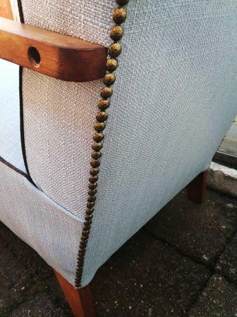 Fotel przedwojenny art deco