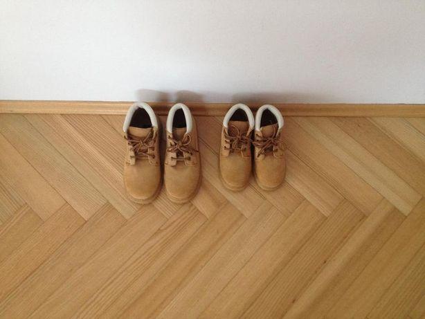 buciki chłopięce nowe, rozmiar 30 (19cm) i rozmiar 35(22cm)