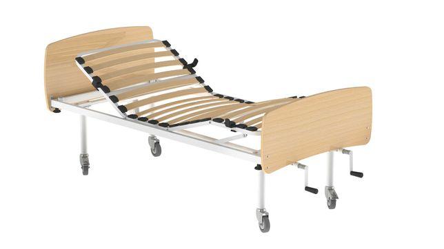 Cama Hospitalar Articulada Manual Tripartida