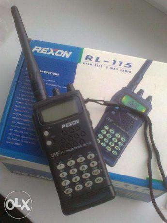 Продам портативную радиостанцию REXON RL-115