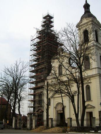 Katowice rusztowanie fasadowe plettac konfiguracja 612 m2