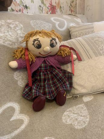 Кукла ручной работы Мягкая . Лучшая подружка с одеждой