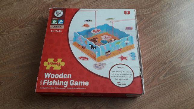 Sprzedam grę magnetyczną łowienie rybek BigJigs