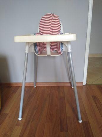 Sprzedam fotelik do karmienia dla dziecka + poduszka IKEA