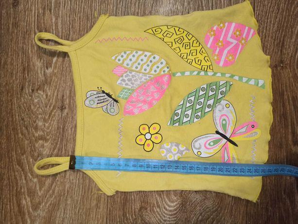 Летняя одежда для девочки ,майка, футболка,шорты,бриджи.
