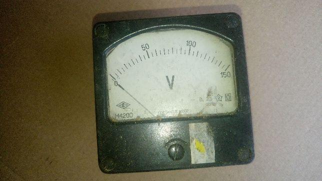 Вольтметр деление 0-150 производство СССР
