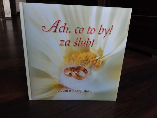 """książka pamiątkowa """"Ach, co to był za ślub"""" NOWA"""