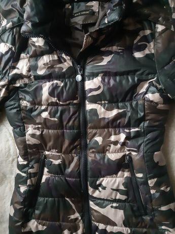 Пуховик куртка пальто камуфляж военная plein moschino