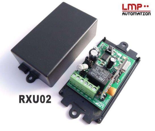 RXU02 Receptor universal comandos portão - Fixos e Rolling code