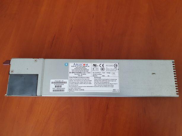 Блок питания для сервера Supermicro 800W (PWS-801-1R)