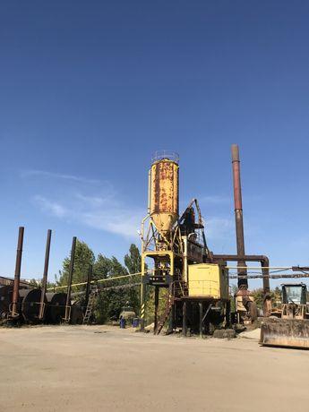 Асфальтный завод в Луганске