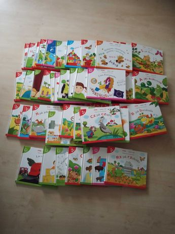 Sprzedam zestaw książeczek dla dzieci 57 sztuk