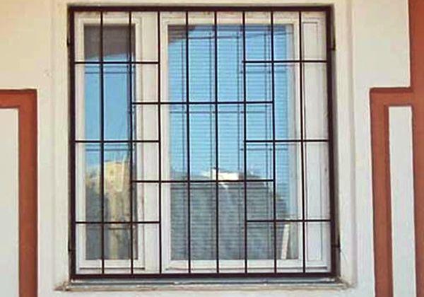 Решетки на окна от 300грн.м.кв.