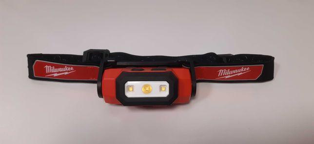 Latarka czołowa Milwaukee L4 HL-201 akumulatorowa 475 lumenów