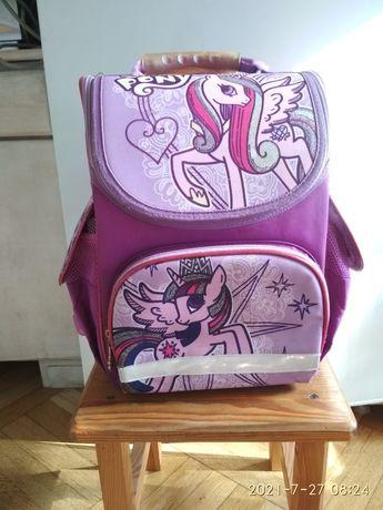 Рюкзак школьный Kite ортопедический каркасный для девочки