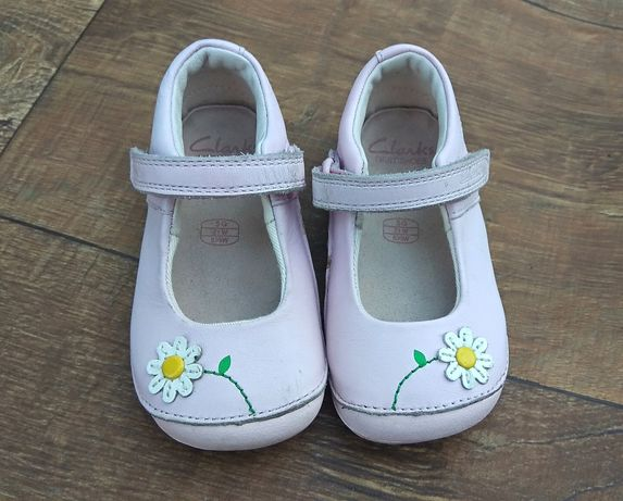 Туфли тапочки сандали 13см кожаные clarks