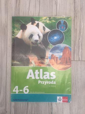 Atlas szkolny dla klas 4-6