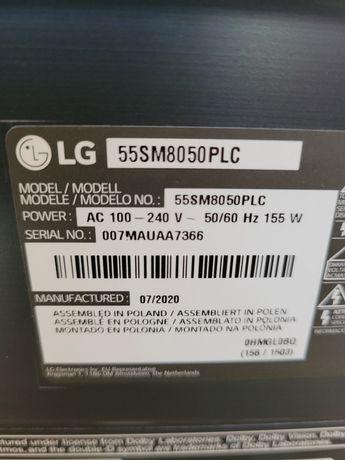 LG 55cali 2020rok gwarancja outlet