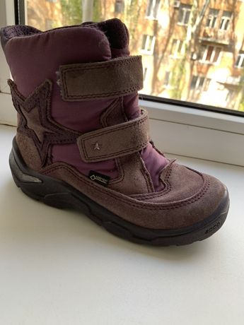 Зимние ботинки Ecco на девочку, 30