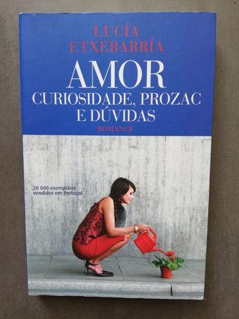 """Livro """"Amor, curiosidade, prozac e dúvidas"""" - Lucía Etxebarría"""