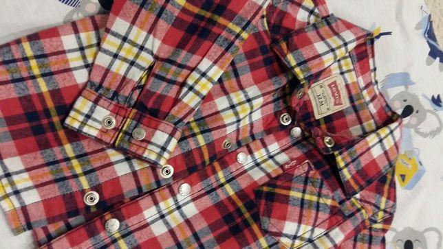 Levi's koszula 74 z metki 12 miesięcy