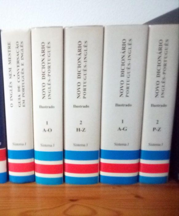 Colecção de dicionários portugues- inglês e inglês - portugues Boliqueime - imagem 1