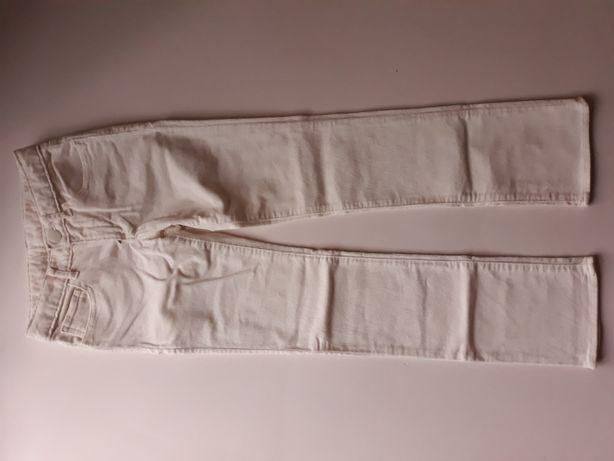 Новые вельветовые штаны молочного цвета GAP